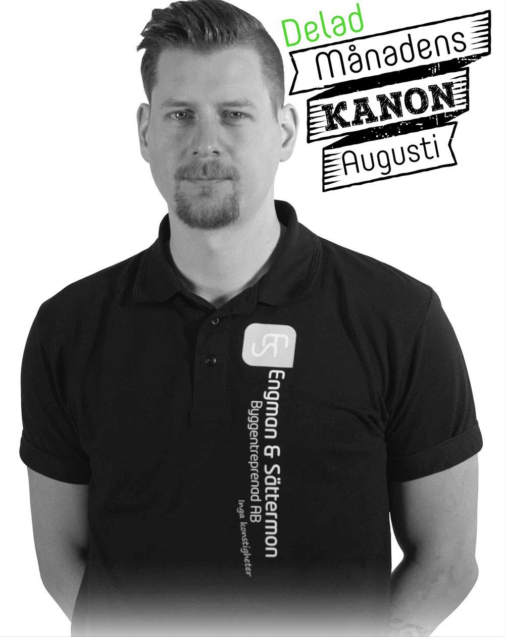 Engman & Sättermon Byggentreprenad AB Anton Kjernholm Snickare / Plattsättare / Projektledare