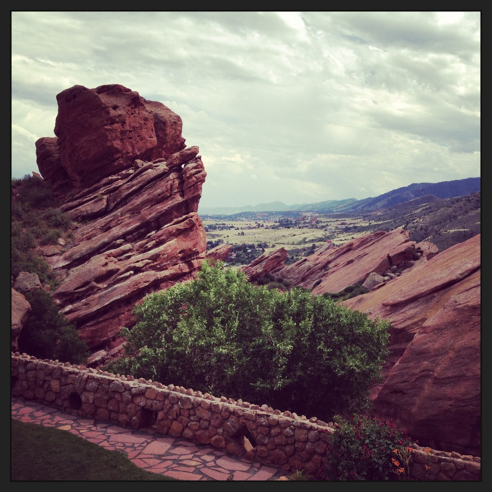 In July, a road trip was in order. Myself, along with two friends drove to Colorado to see Ms. Brandi Carlile perform at the Red Rocks Amphitheater. We experienced weather unlike any I have ever experienced! Thunder, lightning, and a torrential downpour of epic proportions. And it was worth every drop!