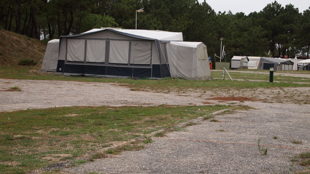 """Portuguese Campground. In the US, I think we call this """"glamping""""."""