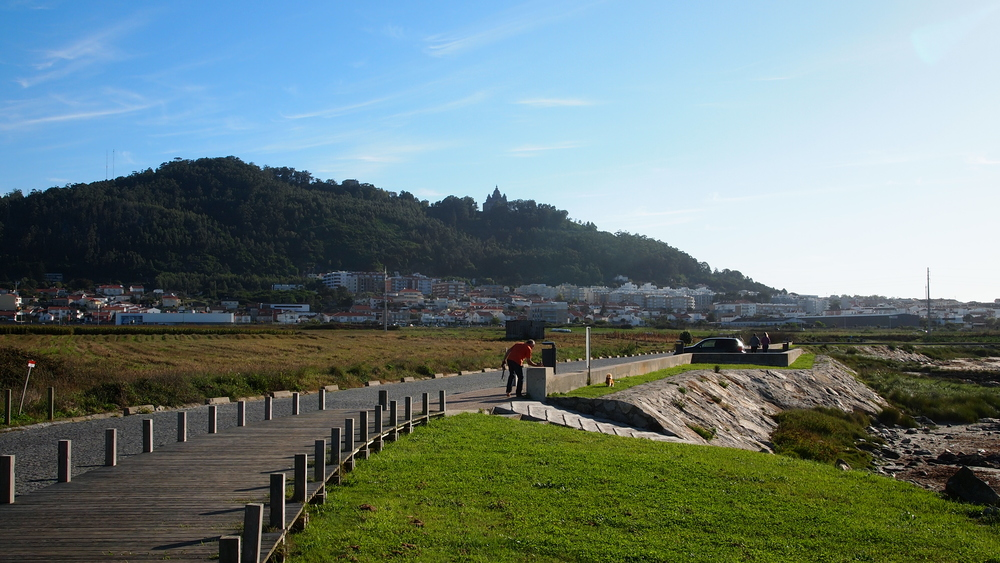 Looking back at Viana do Castelo.  I would really like to visit this town when not walking on the Camino.  They seemed to want tourists and I am happy to oblige them in the future.