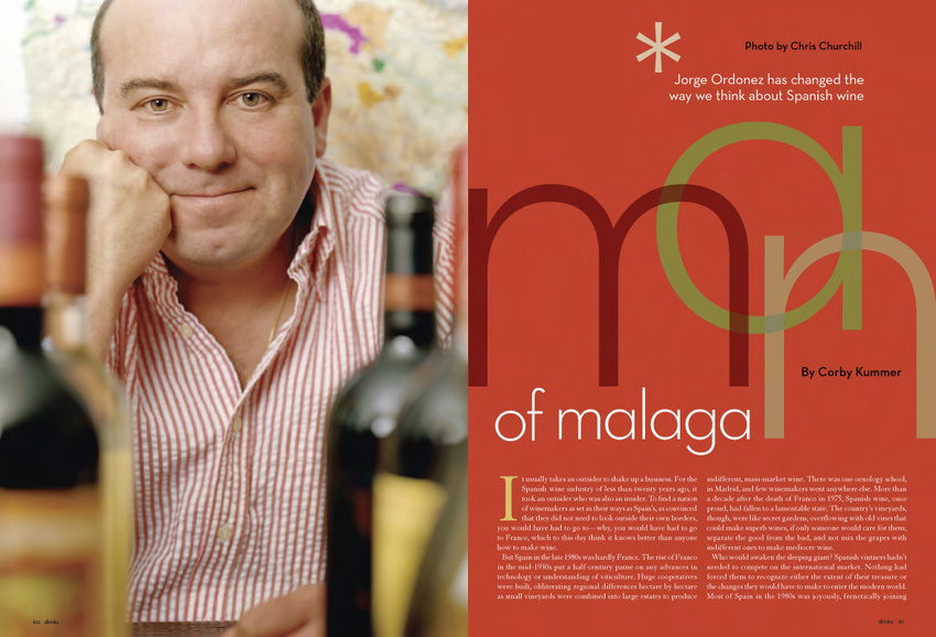 Drink Magazine Feature Spread