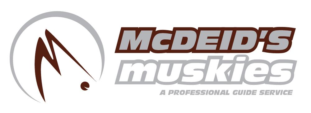 McDeid's Muskies Logo