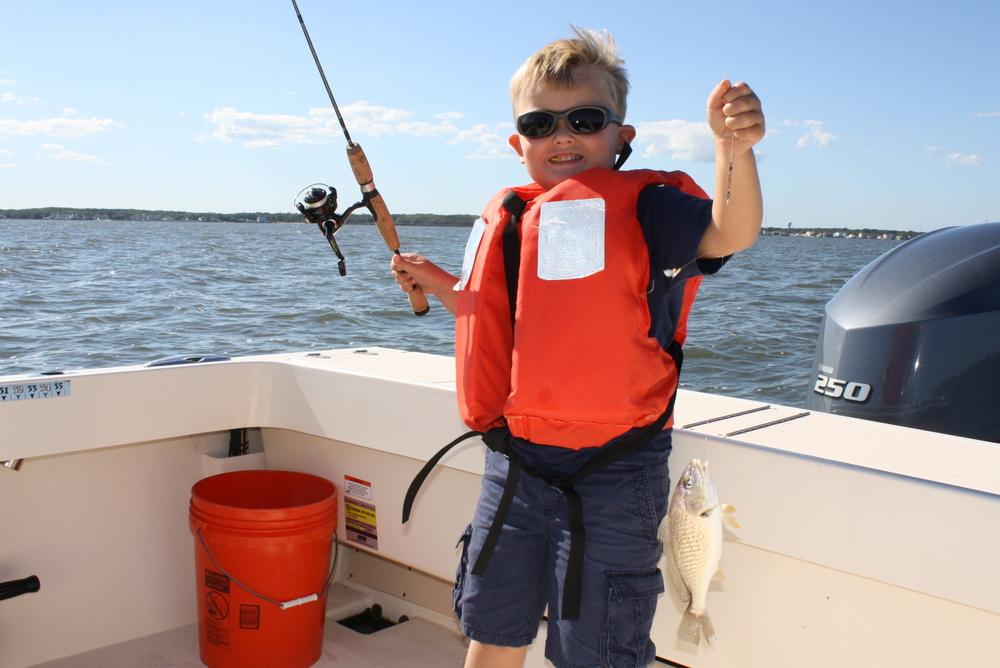Spot filling fun reel reaction sportfishing barnegat for Barnegat light fishing report