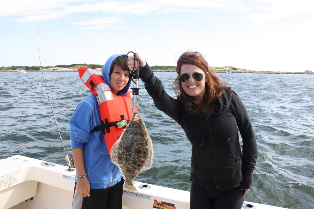Shelly rapoport charter reel reaction sportfishing for Barnegat light fishing report
