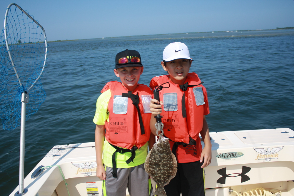 Bay inlet charter andy ead reel reaction for Barnegat inlet fishing report