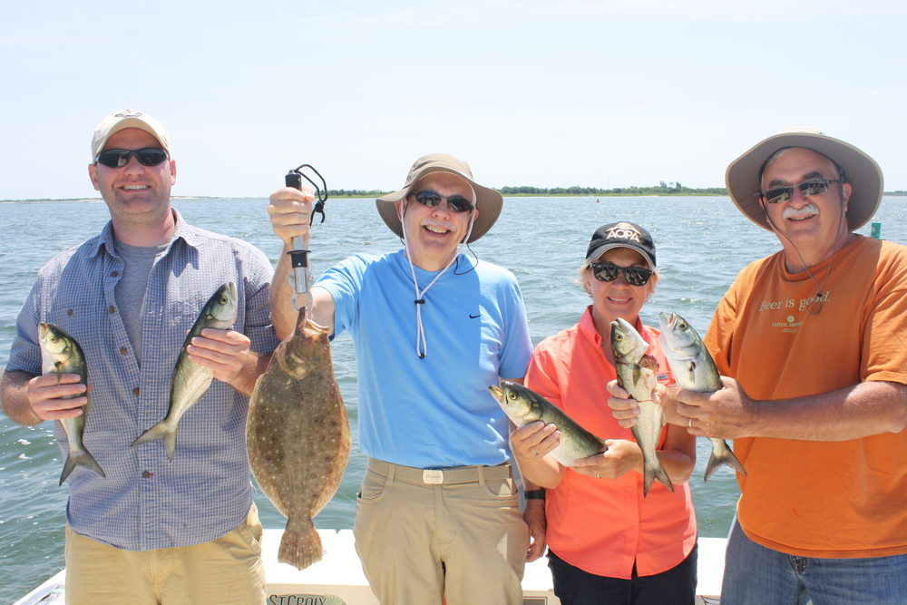 Bay inlet charter al bidwell reel reaction for Barnegat inlet fishing report