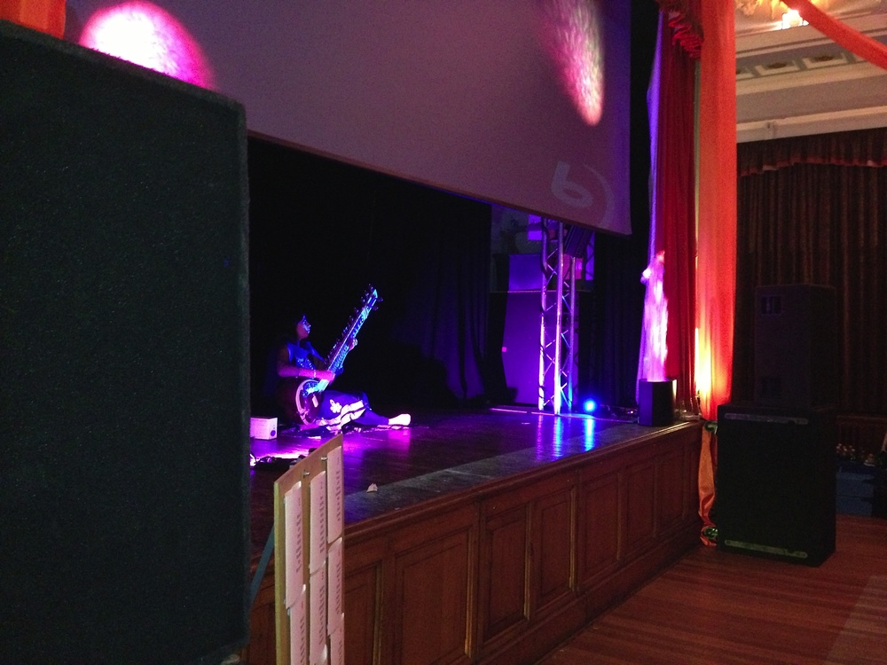 Corporate Christmas Function with Bollywood Theme for Benchmark at Marlborough Town Hall