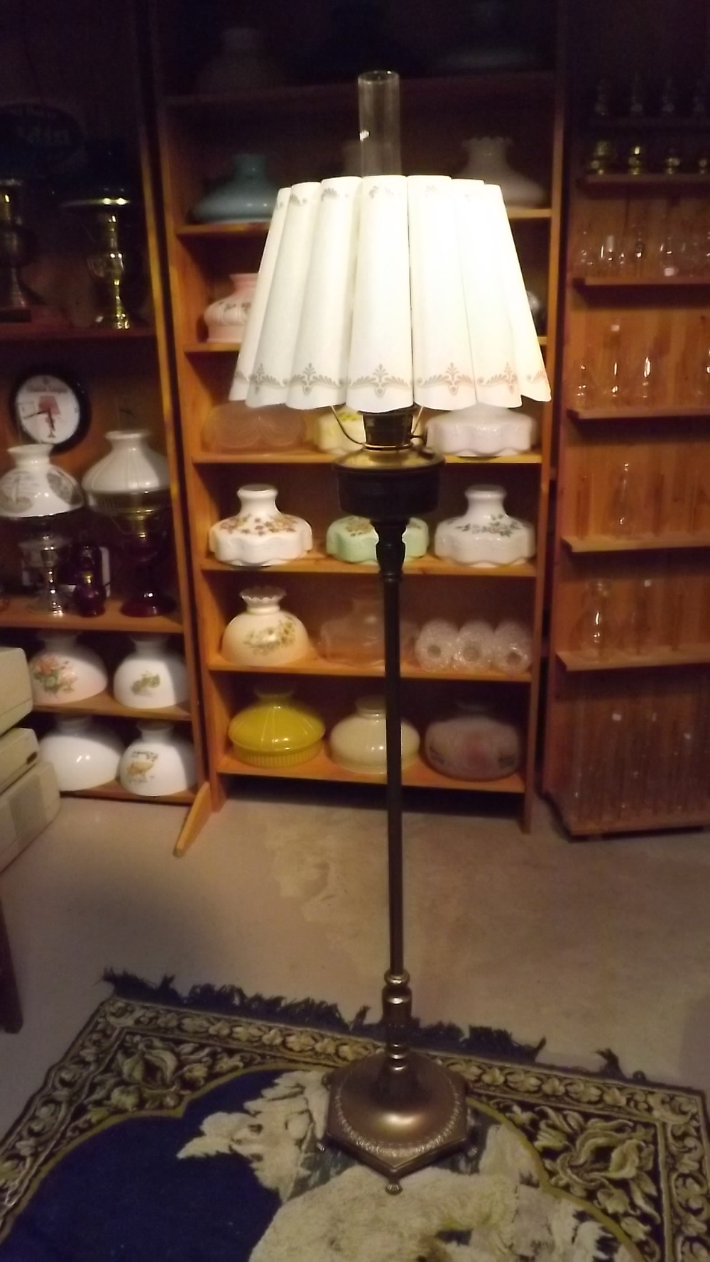 Antique Floor Lamps Antique Kerosene Lighting