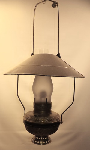 Brass Mammoth Store Lamp Tin Shade Other Configurations Available