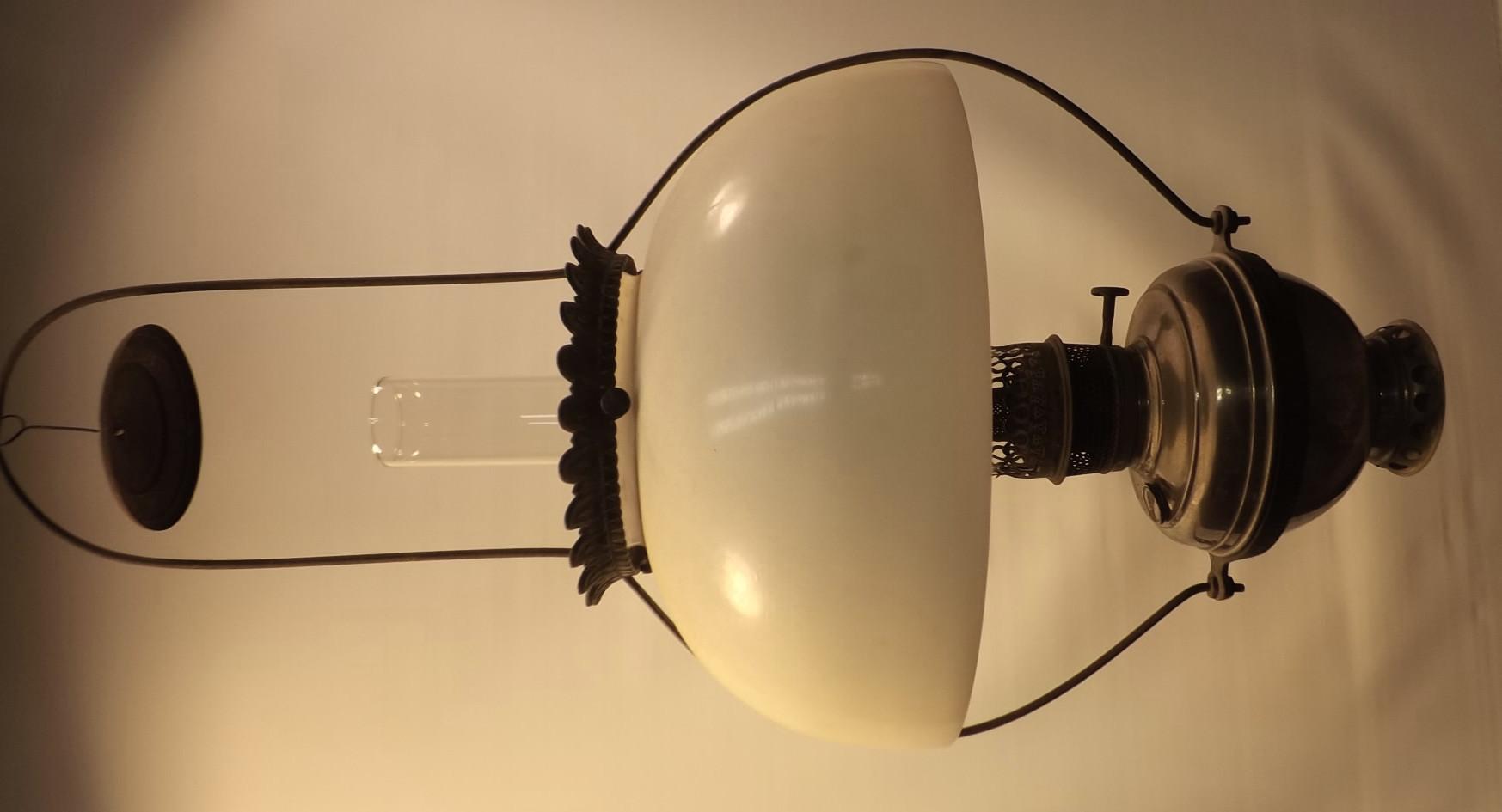 """CD hanging lamp + opal 14"""" shade"""