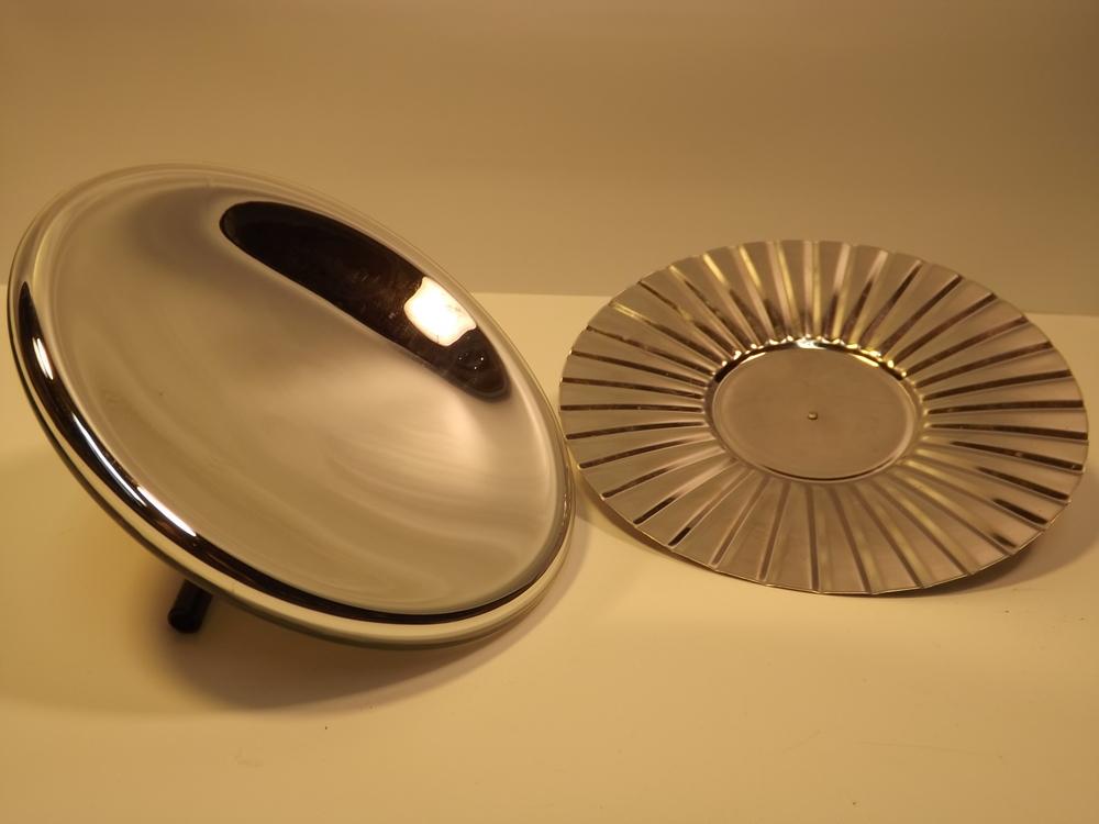 Mirrored & tin reflectors