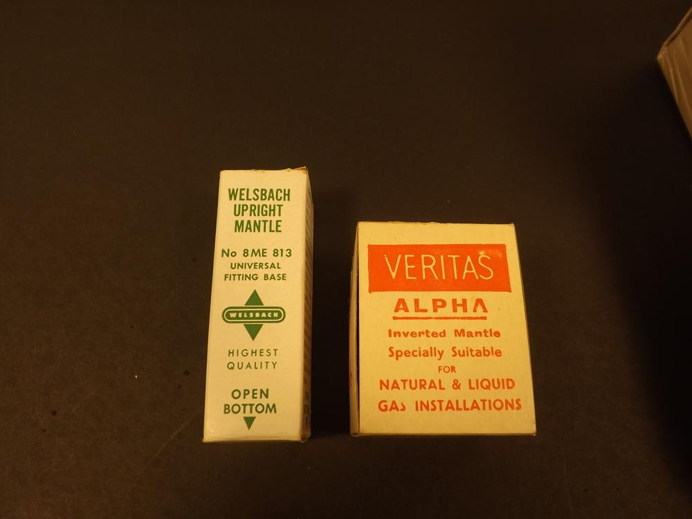 "Welsbach 3"" upright & Veritas inverted"