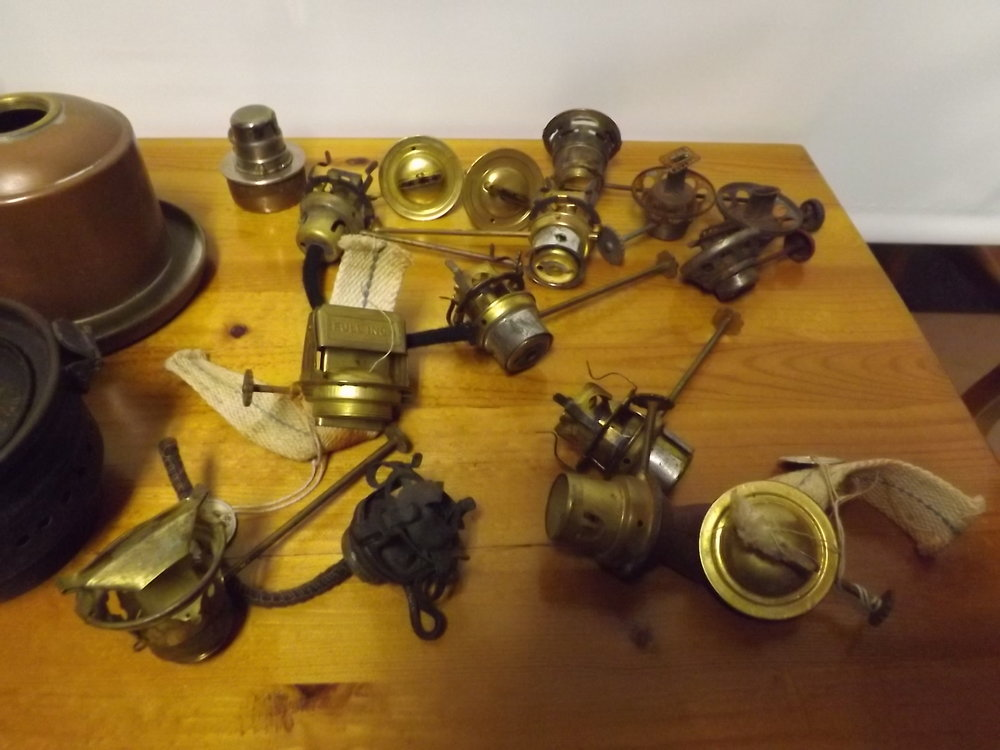 Used lantern burners
