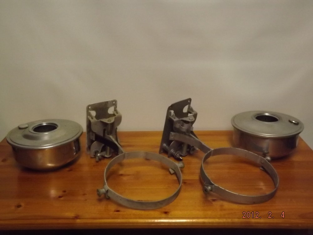 Aladdin caboose lamps - complete or as parts