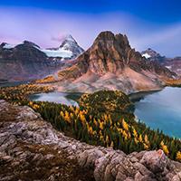 Mount Assiniboine Canadian Rockies October 2015