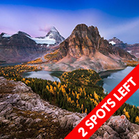 Mount Assiniboine Canadian Rockies October 2015