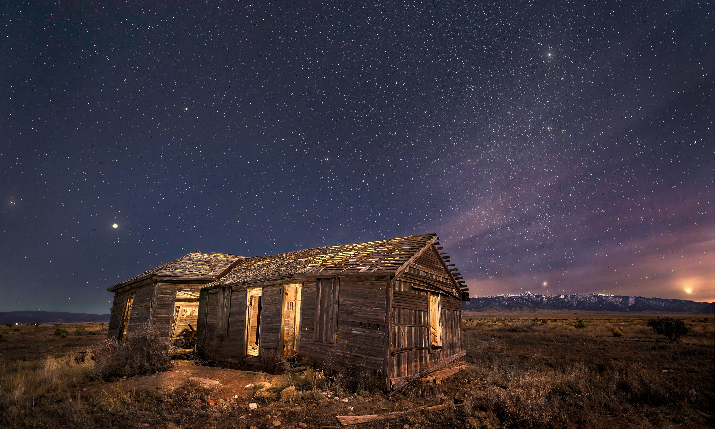 3 comets in one night at Cosmic Campground International Dark Sky ...