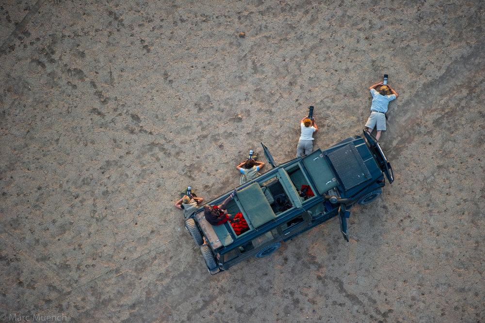 Amboseli dry lake, Kenya
