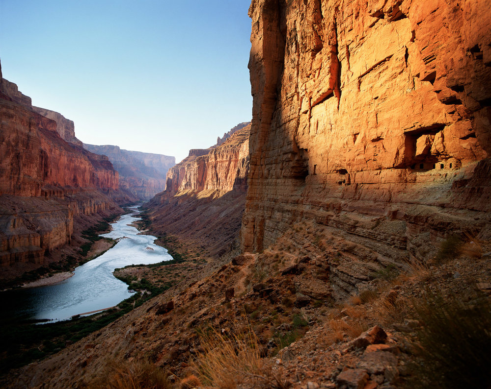 """Nankoweap Ruins, Colorado River Grand Canyon NP  ARIZONA"""