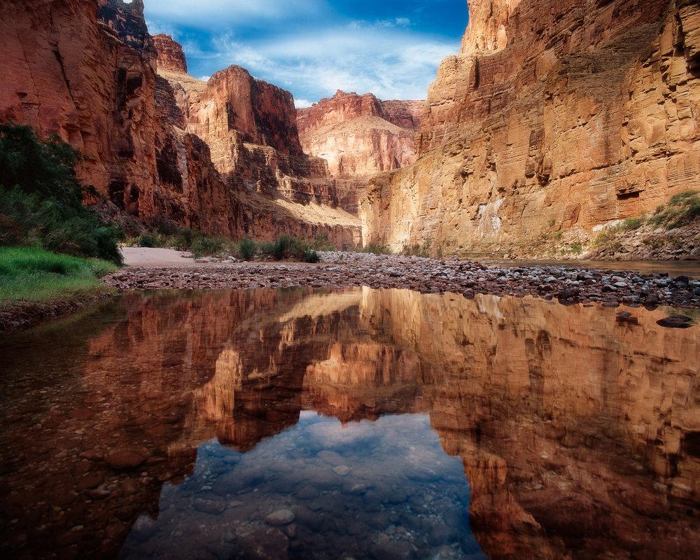"""Colorado River, National Canyon Grand Canyon NP  ARIZONA"""