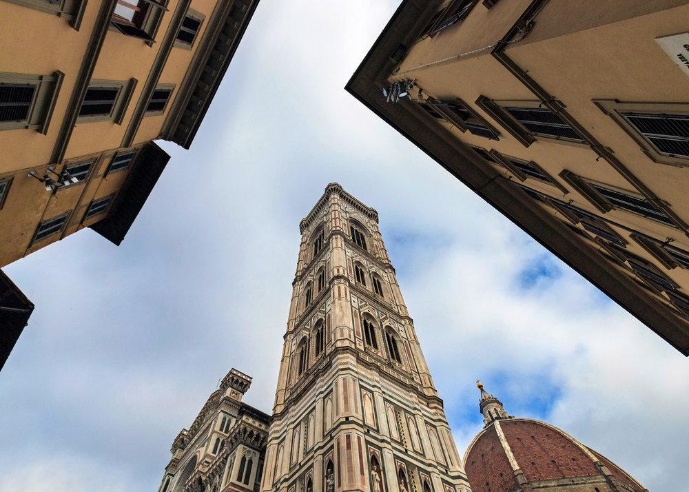 The Basilica of Santa Maria del Fiore in Florence, italy