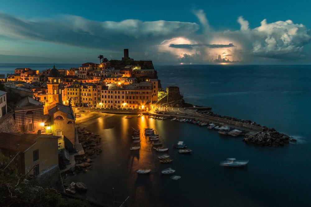 Stormy Vernazza - Cinque Terre, Italy