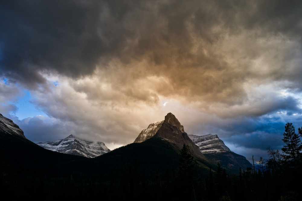 Dusty Star Mountain, Glacier National Park