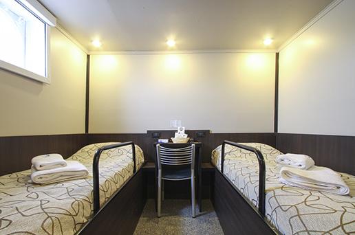 Example of Standard Single Cabin, Private Bathroom