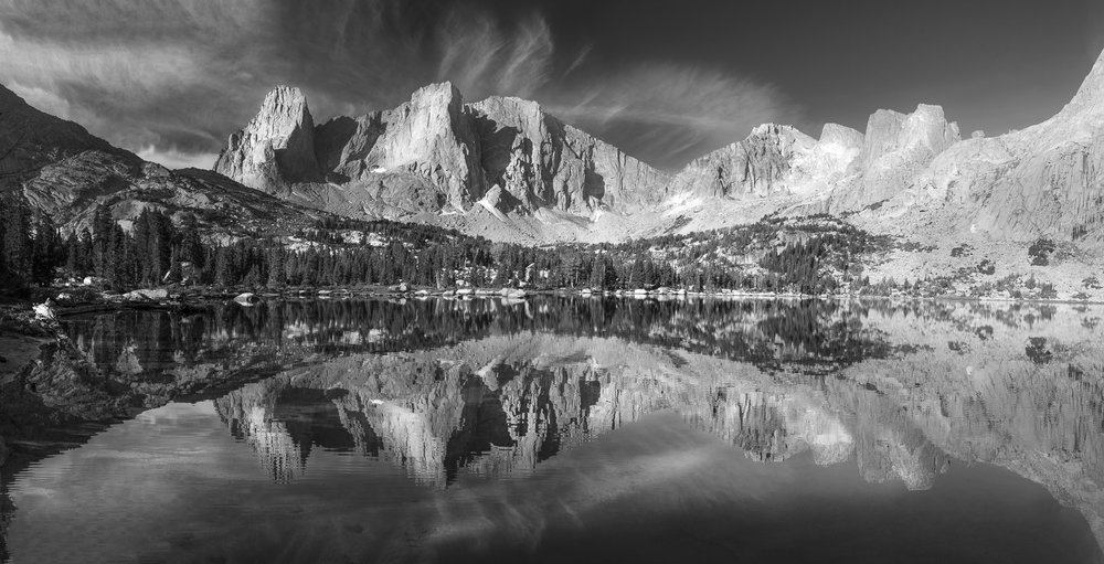 Lonesome Lake, Popo Agie Wilderniss, Windriver Range, Wyoming