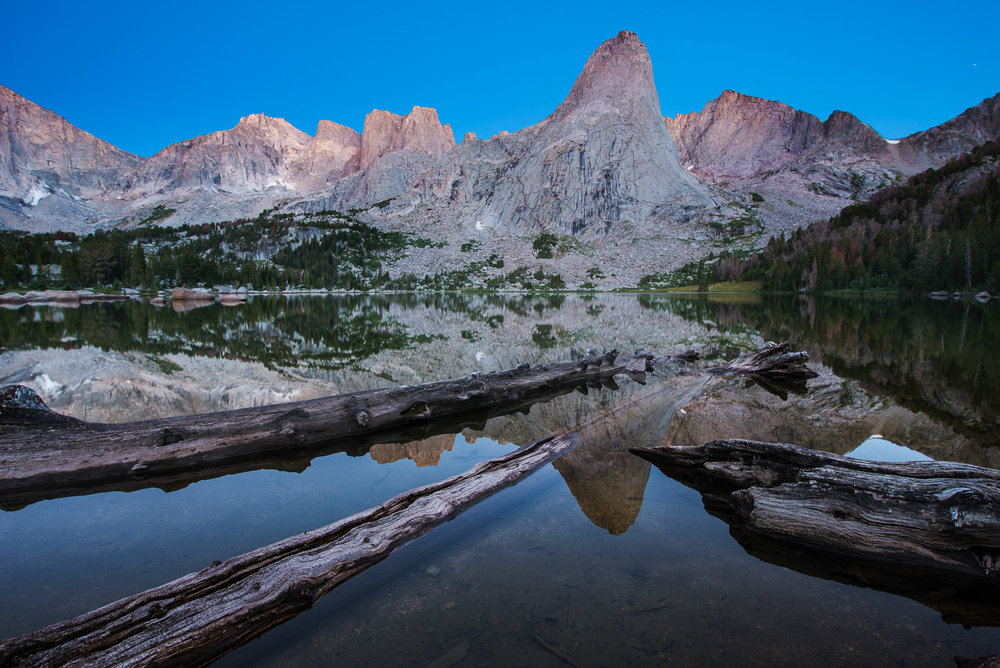Lonesome Lake, Windriver Mountains, Popo Agie Wilderness, Wyoming