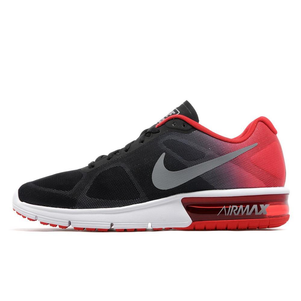 www.jdsports.co.uk Nike Air Max Sequent, Black and Crimson, £80 @ JD  mens.jpg