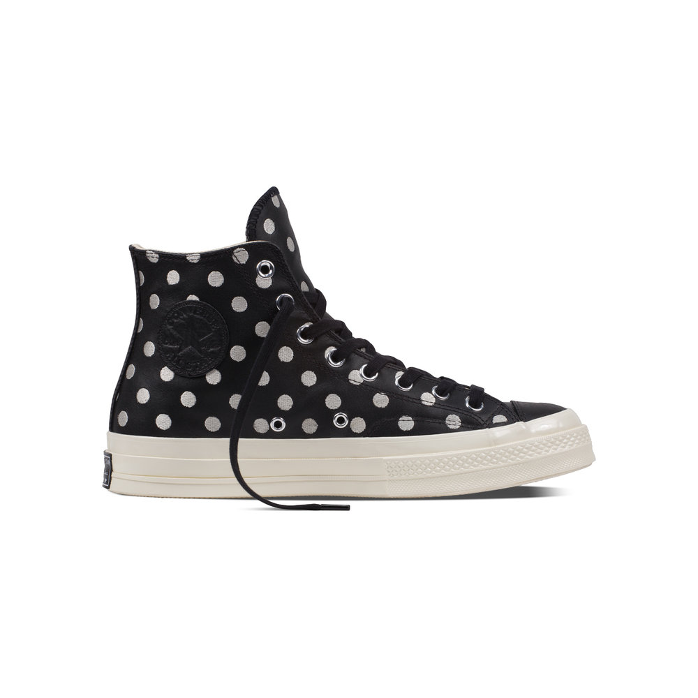 This season Converse have updated their iconic Chuck Taylor All Star 70 and  One Star's with the brand new Embroidered Dots style.