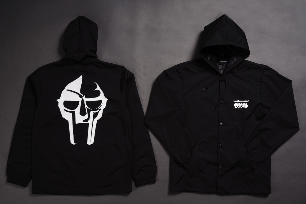 THE HUNDREDS X DOOM_MASK HOODED COACHS.jpg