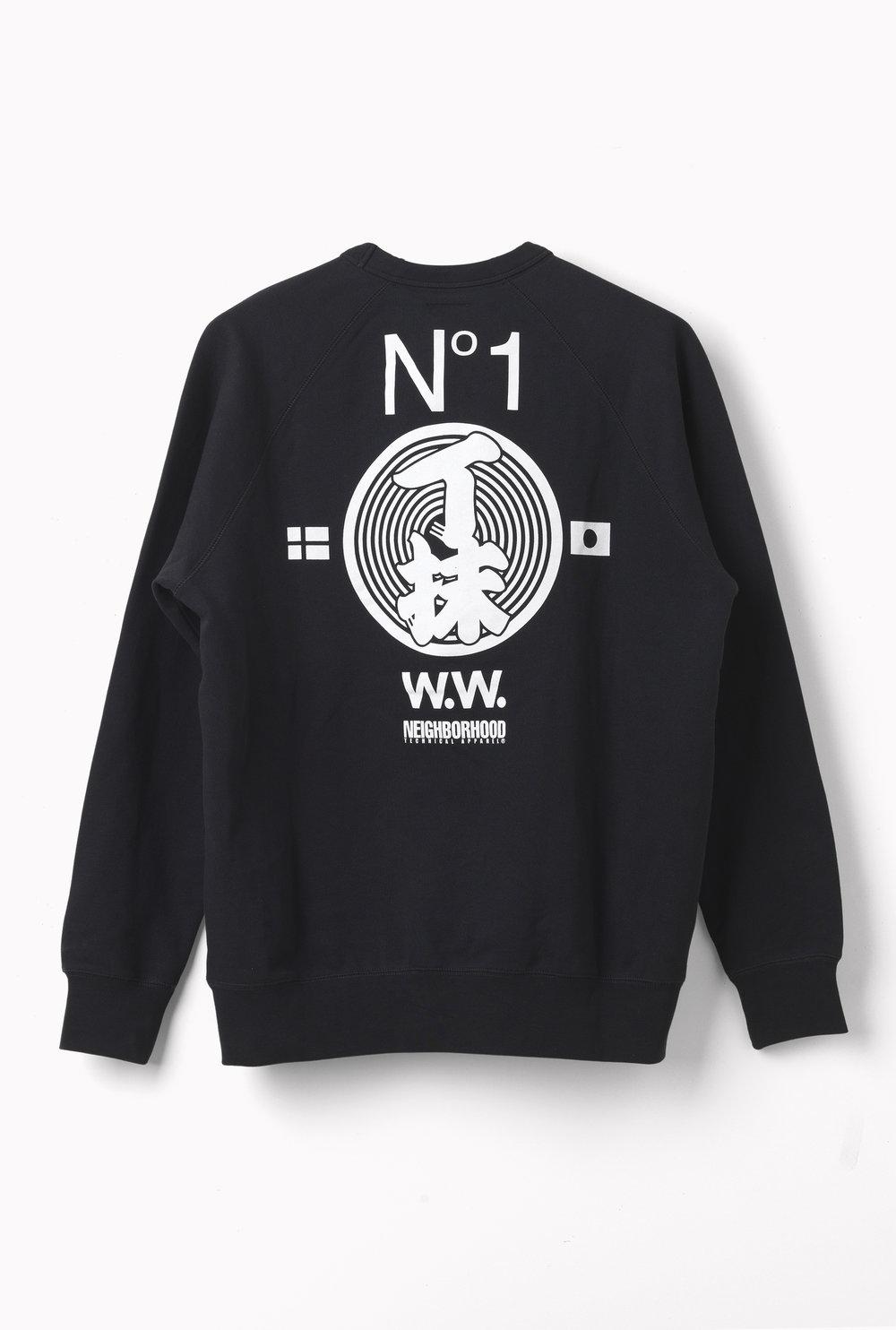 WoodWood_Hester sweatshirt_Black_Back.jpg