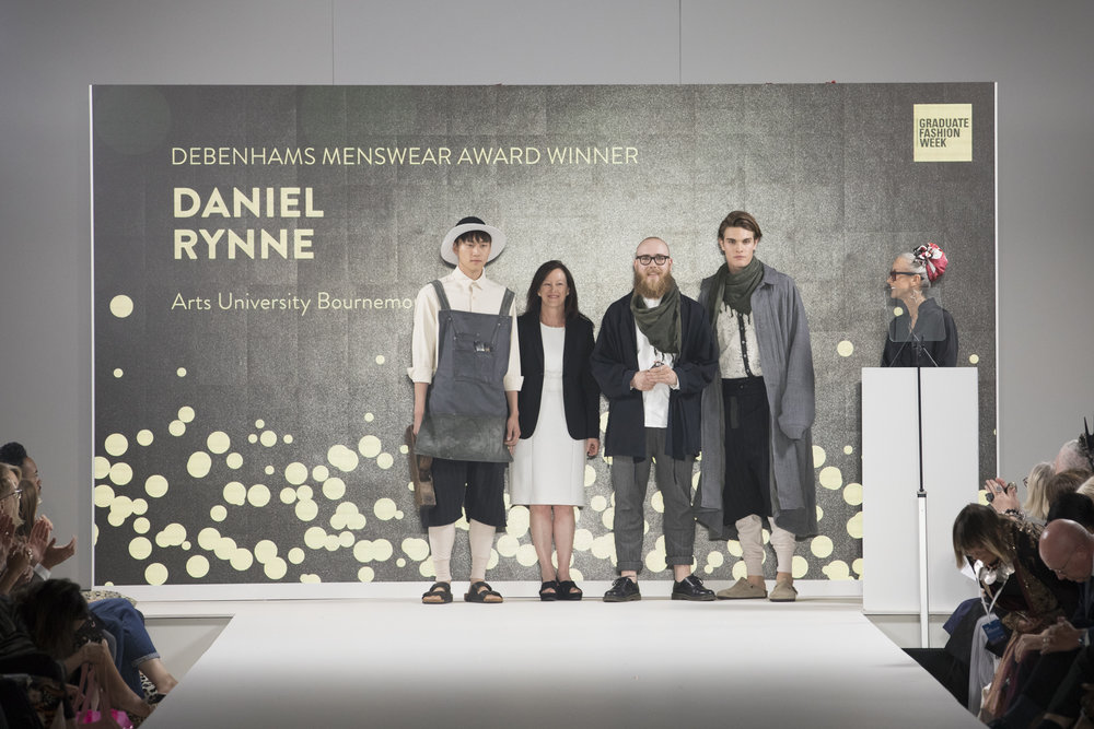 GFW_Daniel Rynne Arts University Bournemouth - Debenhams Menswear Award.JPG