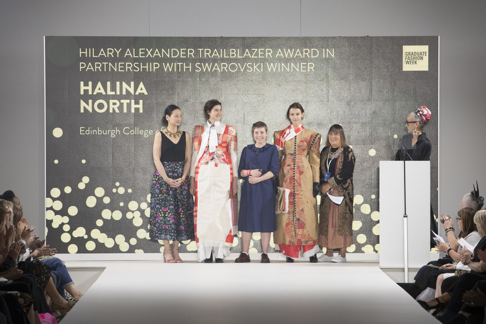 GFW_Halina North Edinburgh College of Art - Hilary Alexander Trailblazer Award.JPG