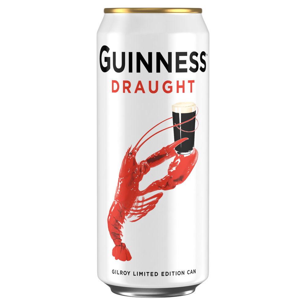 Guinness Gilroy Limited Edition Lobster Can - 440ml - RRP £5 for 4 cans [1][2][1][1].jpg