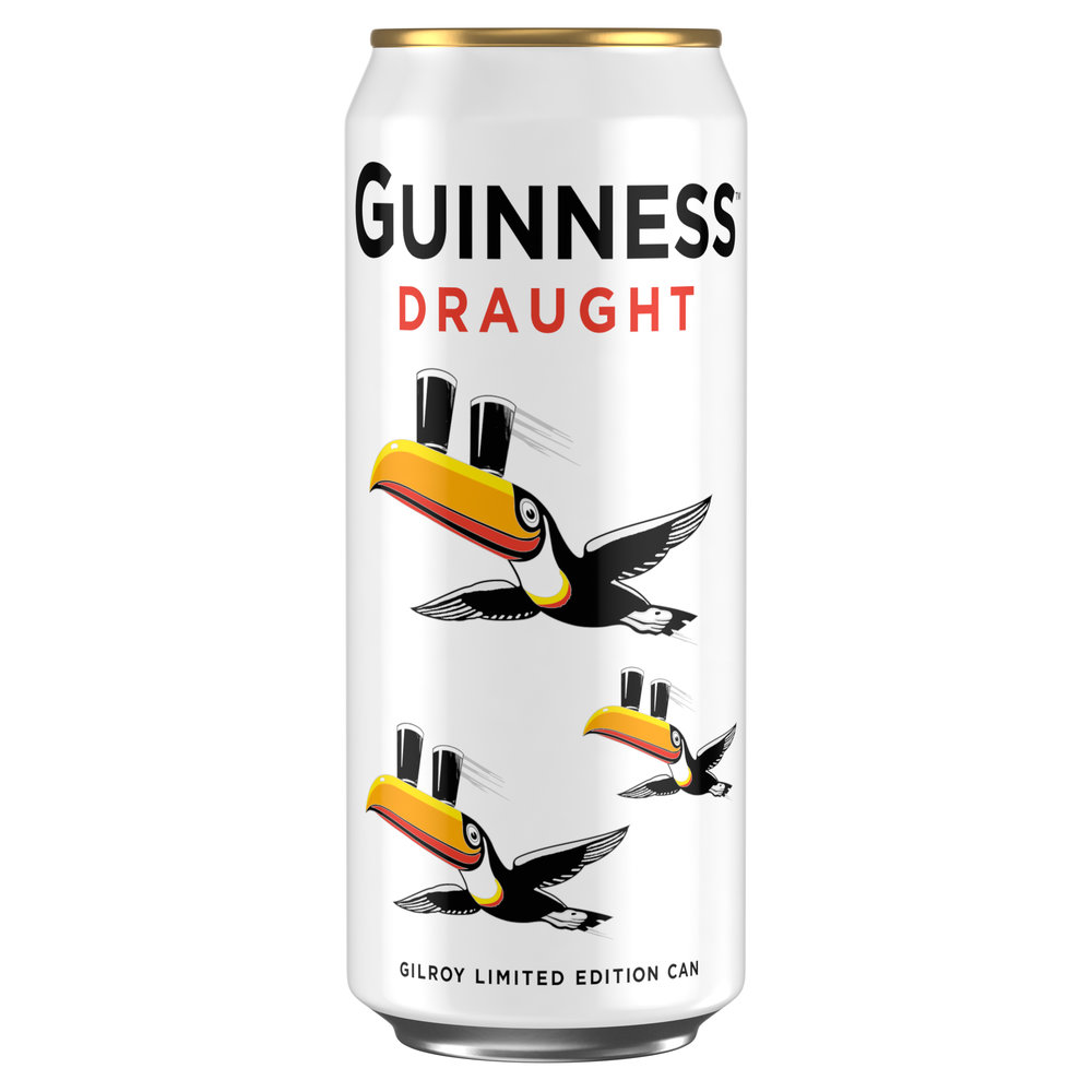 Guinness Gilroy Limited Edition Toucan Can - 440ml - RRP £5 for 4 cans [1][2][1][1].JPG