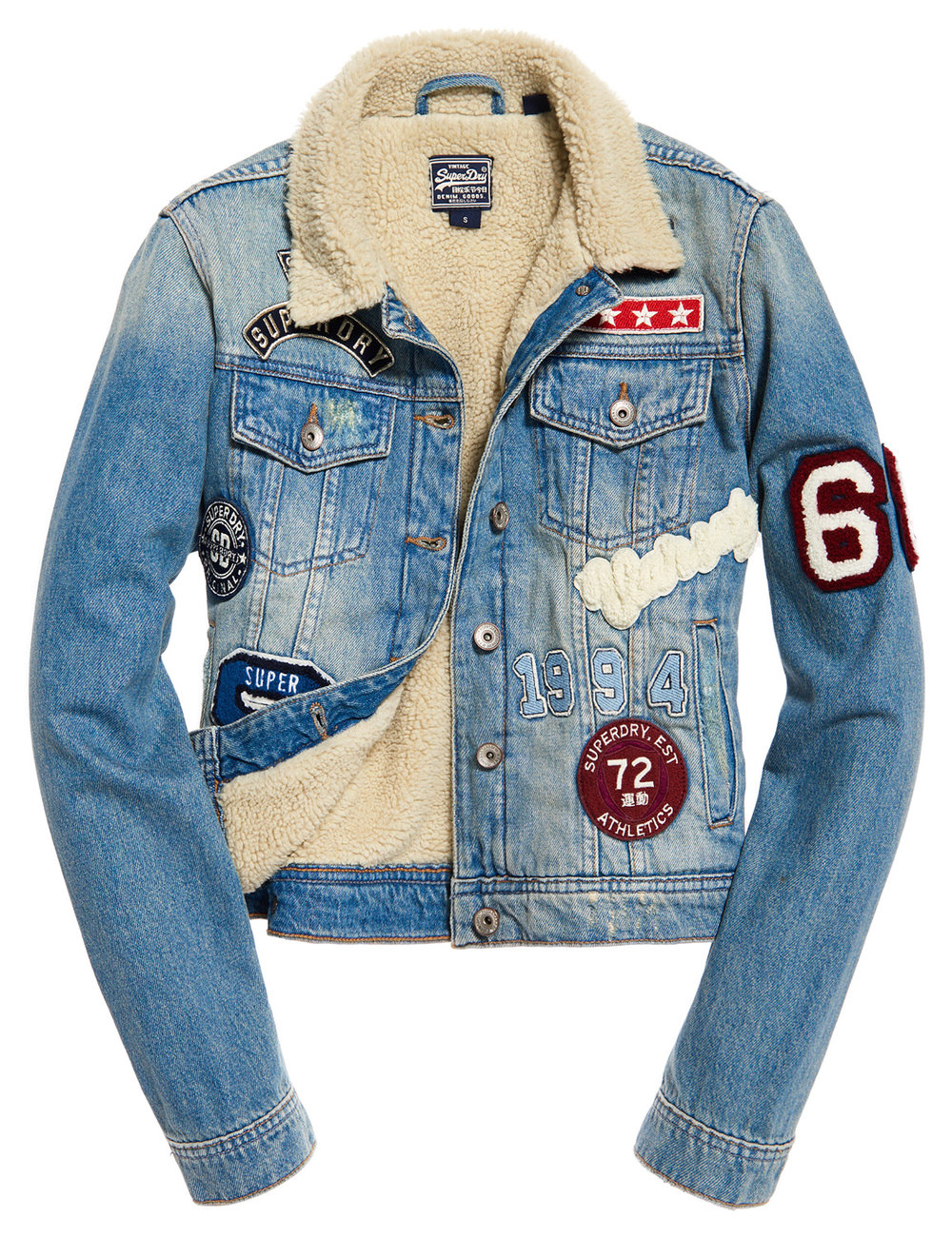 Superdry Sherpa Girlfriend Jacket £74.99 - 109.95€ www.superdry.com.jpg