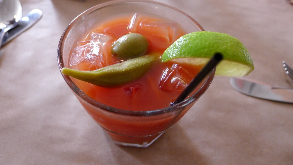 Hominy Grill bloody mary is a must.