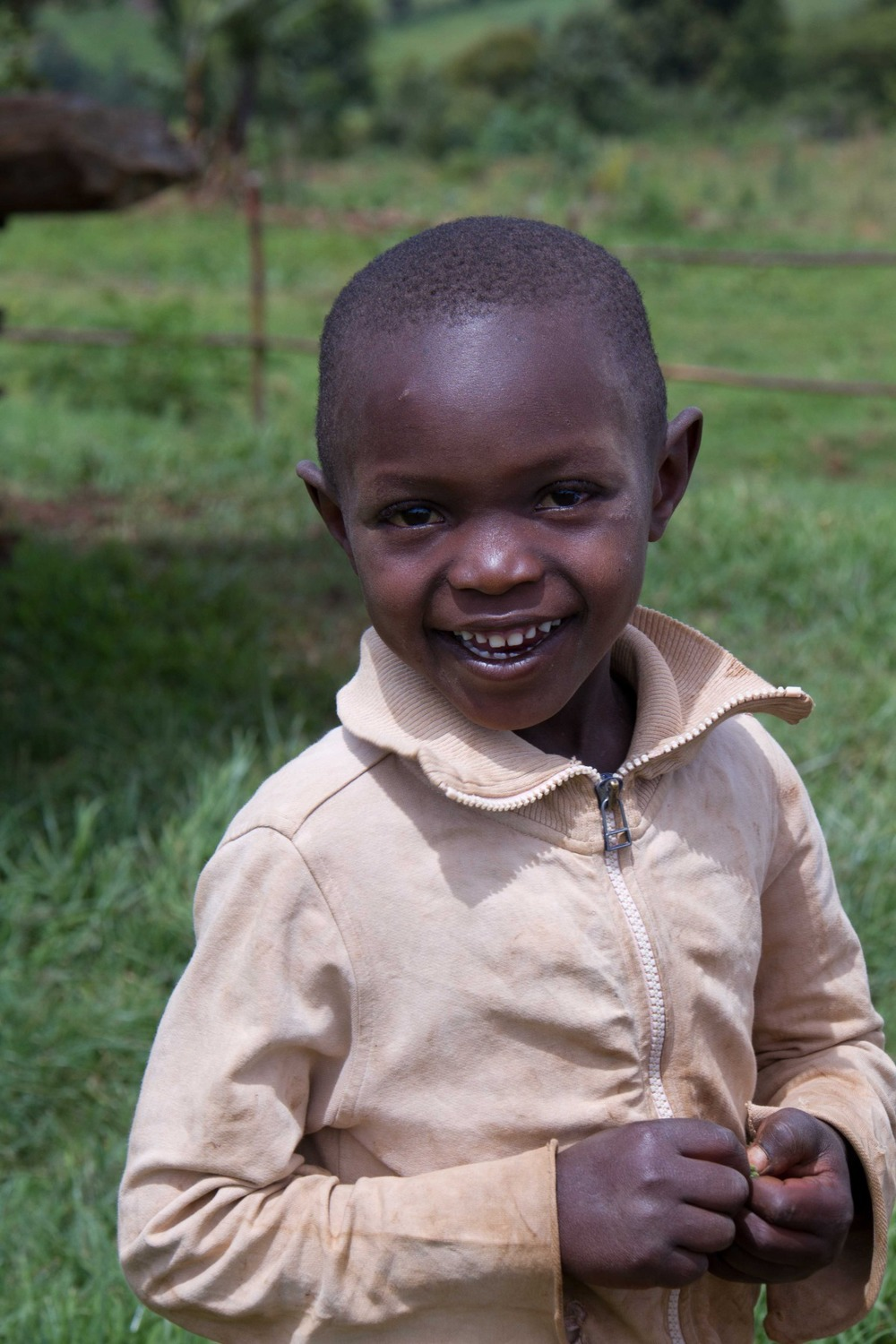 Kenyan child