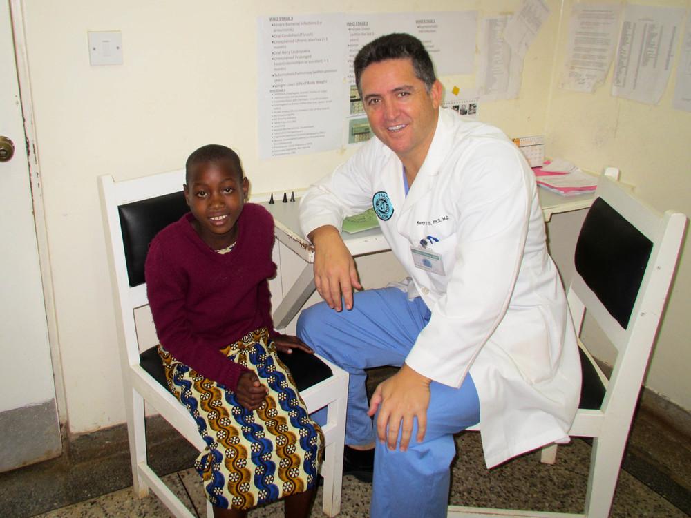 At Tenwek Hospital in Bomet, Kenya