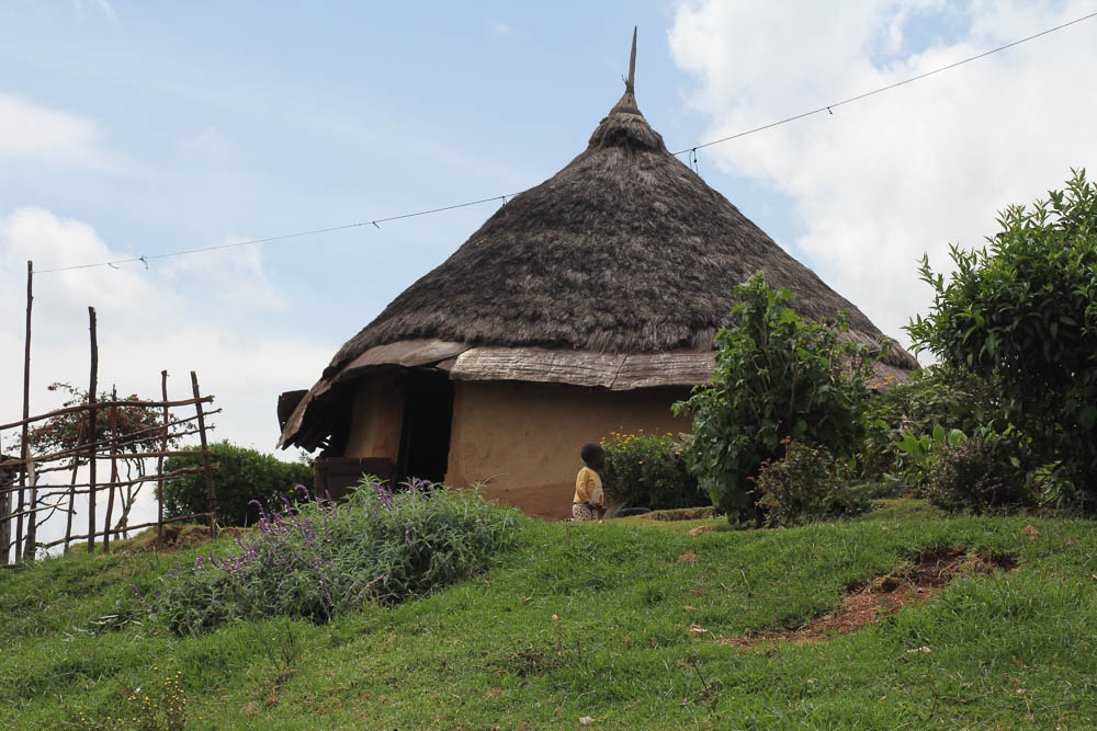 a traditional Kipsigi home