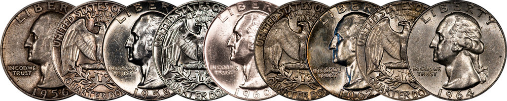 Type B washington quarters