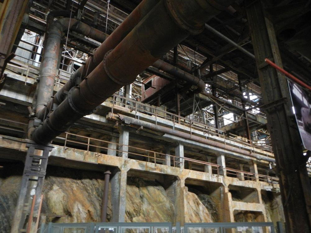 The processing plant