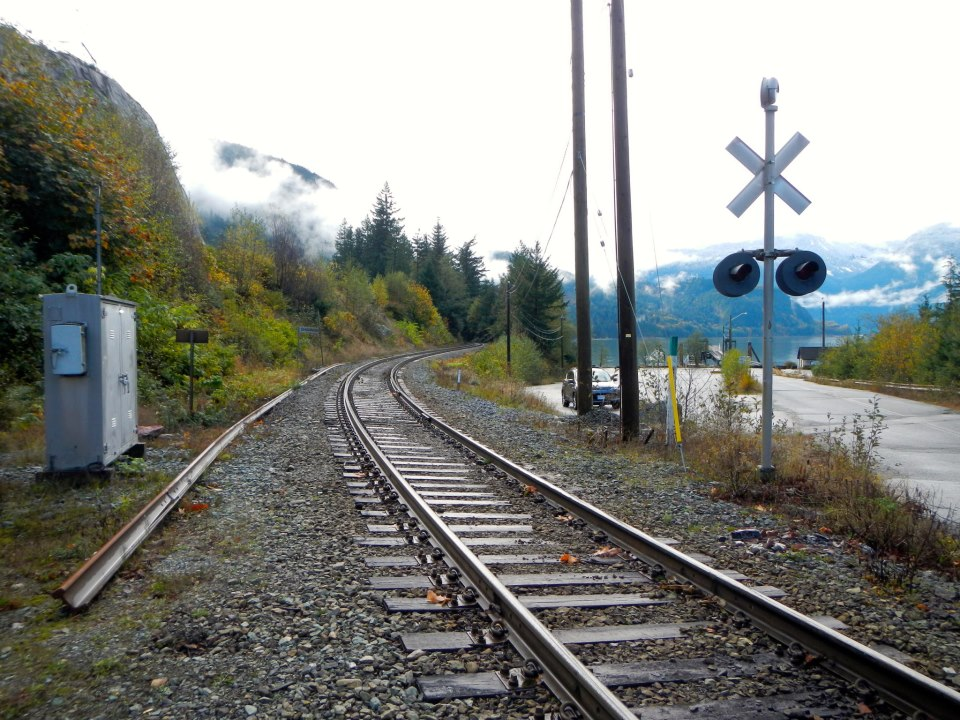 Next time, we are taking the train to Whistler!