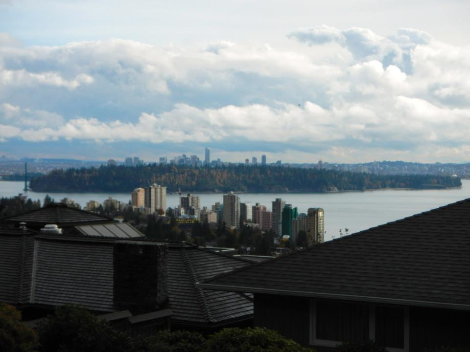 Vancouver from across the water