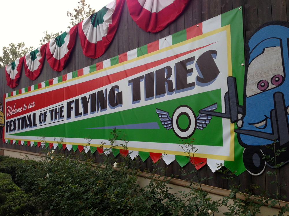 The Festival of the Flying Tires!