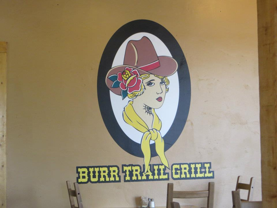 Burr Trail Grill - a must stop, if you find yourself in the middle-of-nowhere Utah.