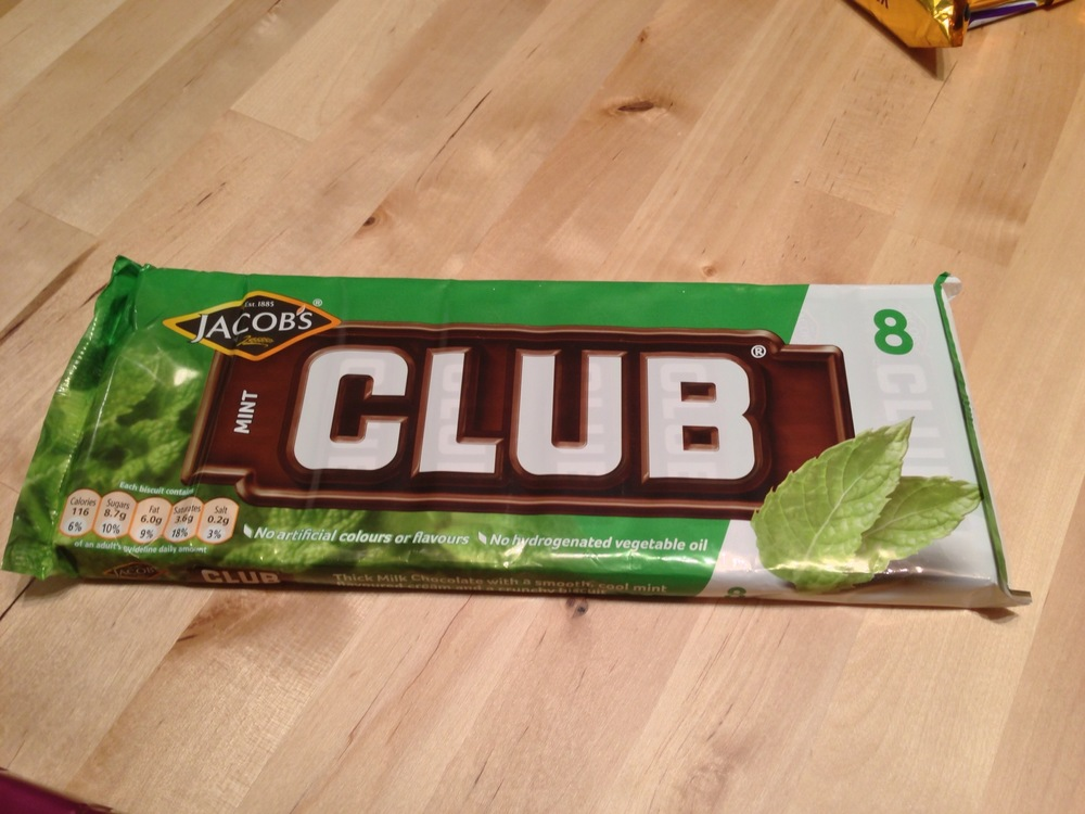 Mint Club Biscuits
